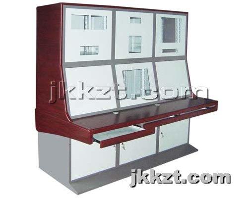 监控控制台提供生产四围木边双层监控控制台厂家