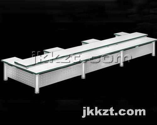 监控控制台提供生产新款钢木调度台厂家